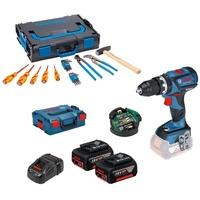 Bosch GSB 18V-60 C Professional inkl. 2 x 5,0 Ah + L-Boxx (0615990J66)
