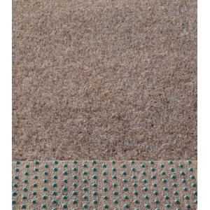 Rasenteppich Kunstrasen 400 cm Breite Farbe beige-braun (350 x 400 cm)