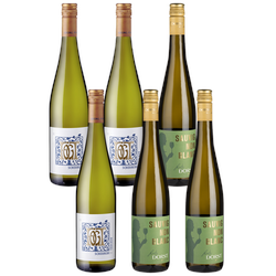 6er-Paket Scheurebe vs. Sauvignon Blanc - Weinpakete