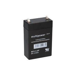 Multipower Multipower Blei-Akku MP2,8-6P Pb 6V / 2,8Ah Bleiakkus