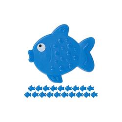 relaxdays Antirutsch-Aufkleber 20 x Antirutsch Sticker Badewanne Fisch, B: 11 cm, L: 2 cm