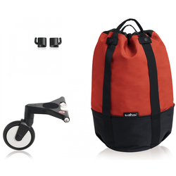 Tasche mit Rad Babyzen Tasche Yoyo + Rot