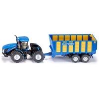 SIKU 1947 - Traktor mit Silagewagen verschiedene Farben 1:50