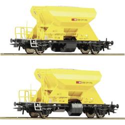 Roco 76154 H0 2er-Set Schotterwagen der SBB