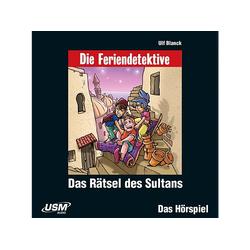 Die Feriendetektive - Feriendetektive: Das Rätsel des Sultans (CD)