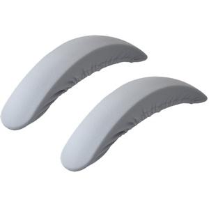 F Fityle Stuhl Armlehnenschoner Überzug Armlehnenbezug elastisch Stuhlhusse Stuhlbezug für Armlehnenbezug - Grau