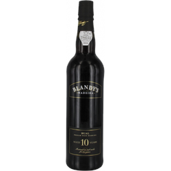 Bual 10 years Madeira Blandy's - Portwein, Madeira, Sherry & Co