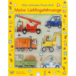 Mein schönstes Puzzle-Buch - Fahrzeuge