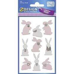 Oster Sticker Hasen Effektfolie VE=1 Blatt