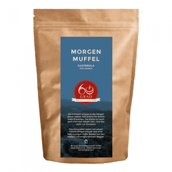 "Kaffeebohnen 60 Grad - Die Kaffeerösterei ""Morgenmuffel Kaffee"", 1 kg"