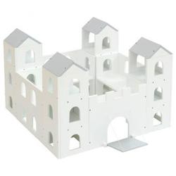 Ritterburg weiß/grau, 61 x 89 x 89 cm