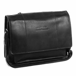 The Chesterfield Brand Wax Pull Up Gent Fahrradtasche Leder 40 cm Laptopfach black
