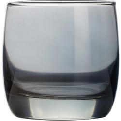 Luminarc Whiskyglas Shiny (4-tlg), farblich beschichtet grau