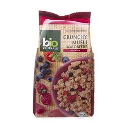 biozentrale Crunchy Müsli Waldbeere 375g  3er Pack