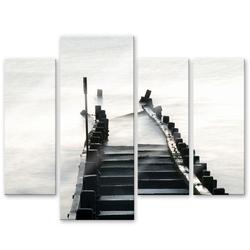 Wall-Art Mehrteilige Bilder Way to nowhere (4-teilig), (Set, 4 Stück)