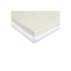 Latexmatratze Latexmatratze Komfort (Natur-Latexmatratze), Ravensberger Matratzen, mit Baumwoll-Doppeltuch-Bezug 200 cm x 160 cm