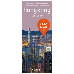 EASY MAP Hongkong 1:15.500