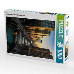 Architektur Facetten Chicago 2020 Lege-Größe 48 x 64 cm Foto-Puzzle Bild von Mike Hans Steffl Puzzle