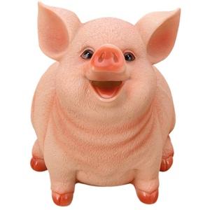 Sparschwein Kind Spardose Harz Schwein Sparschwein Spartopf Haushaltsdekoration Handwerk für Kinder Und Erwachsene Normale Größe