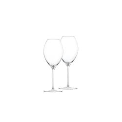 SPIEGELAU Weißweinglas Novo Weissweinglas 2er-Set, Glas