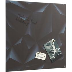 Sigel Magnettafel, rahmenloses Design 48 cm x 1,5 cm x 48 cm