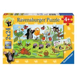 Ravensburger Puzzle Der Maulwurf Im Garten, 48 Puzzleteile