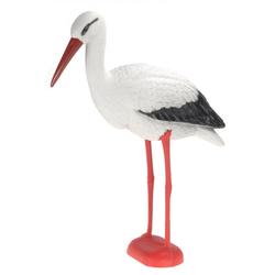 Dekofigur Storch Klapperstorch - Gartendeko & Vogelscheuche
