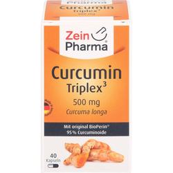 CURCUMIN-TRIPLEX3 500 mg/Kap.95% Curcumin+BioPerin 40 St.