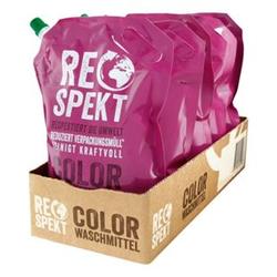 Respekt Colorwaschmittel 30 WL, 5er Pack