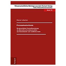 Prozesskostenfonds. Marcel Lötscher  - Buch