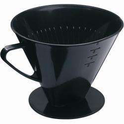 WESTMARK Six Kaffeefilter , Hochwertiger und schwer zerbrechlicher Kaffeefilter in schwarz, Größe: 18,5 x 16,1 x 13,7 cm