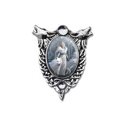 Adelia´s Amulett Cabochon Talisman, Winter Guardians Cabochon