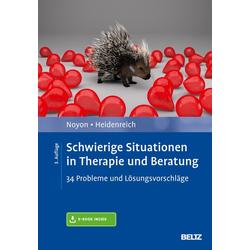 Schwierige Situationen in Therapie und Beratung: Buch von Alexander Noyon/ Thomas Heidenreich
