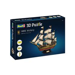 Revell® 3D-Puzzle Revell 00171 - 3D Puzzle, Flaggschiff HMS Victory, 189 Puzzleteile