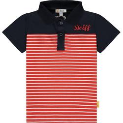 Steiff Poloshirt Poloshirt für Jungen rot 104