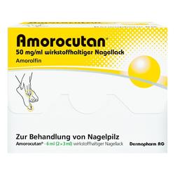 AMOROCUTAN 50 mg/ml wirkstoffhaltiger Nagellack 6 ml