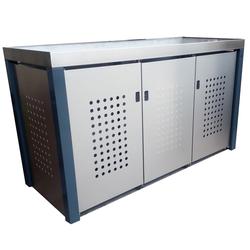 Design Werkstatt Handgefertigte Mülltonnenbox für 3 x 120 l,,3 x 120 l