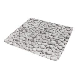 Kleine Wolke Duscheinlage Stepstone in grau, 55 x 55 cm