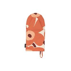 Marimekko Topflappen Pieni Unikko Ofenhandschuh Apricot H/W 21 weiß