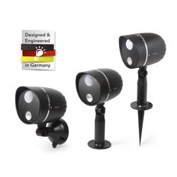 Batteriebetriebe LED Außenleuchte mit PIR Bewegungserkennung
