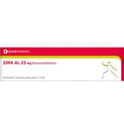 ZINK AL 25 mg Brausetabletten 20 St.
