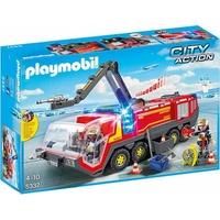 Playmobil City Action Flughafenlöschfahrzeug mit Licht und Sound (5337)