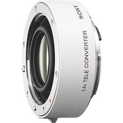 Sony Objektiv 14TC A-Objektiv für Digitalkameras weiß