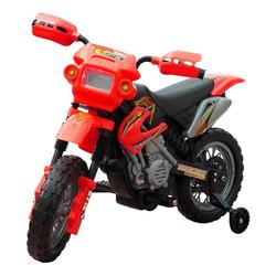 vidaXL Modellmotorrad Kinder Motorrad 2 km/h Akku rot
