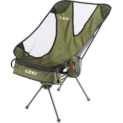 LEKI Chiller Camping Stuhl Oliv-Braun 380080 Belastbarkeit (Gewicht) (max.) 145kg