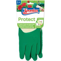 Spontex Protect Gartenhandschuh , Handschuh für Hecken, Dornen und scharfe Kanten, 1 Paar, Größe: 6-6,5