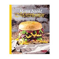 Mann backt Motivtorten. Marian Moschen  - Buch