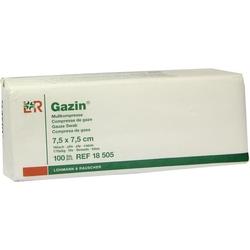 GAZIN Kompresse 7.5x7.5cm 16fach OP