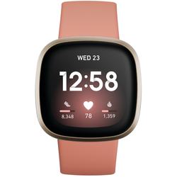 Fitbit Versa 3 Rosa/Gold