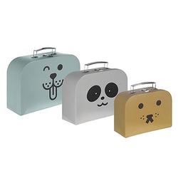 Spielkoffer-Set Spielkoffer mehrfarbig